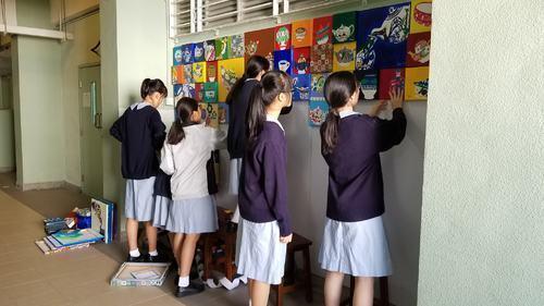 家政室壁畫製作