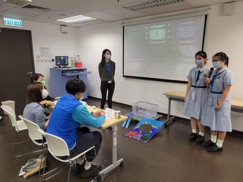 海洋公園STEAM學生大賽2021 -「海龜護理」組亞軍